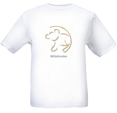 T-Shirt med stort tryck. Barn