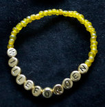 Armband enfärgad gul/guld