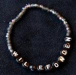 Armband enfärgad svart/svart